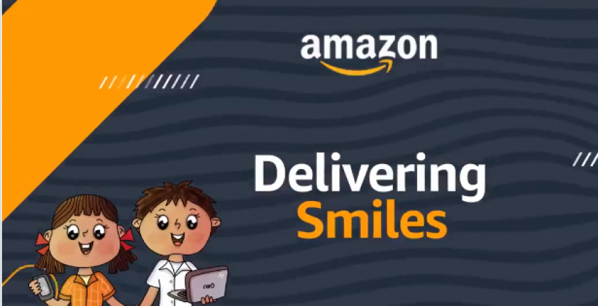 Amazon India to provide digital devices to underprivileged students