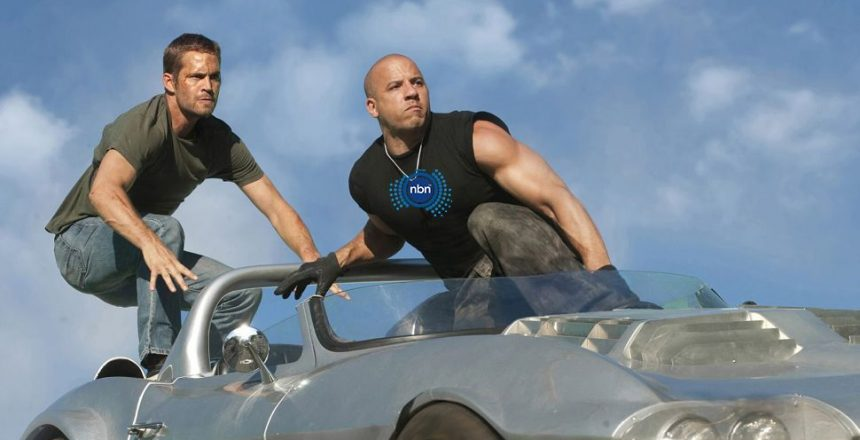 Aussies are flocking to blazing-fast NBN 250 and 1000 plans Vin Diesel standing on a car
