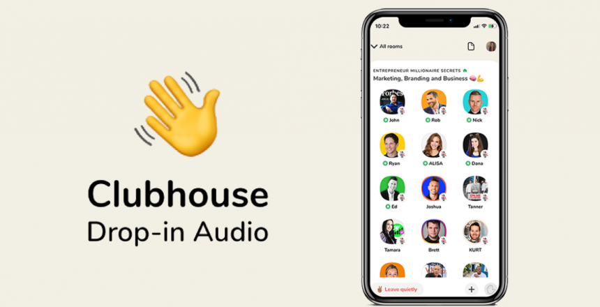 Clubhouse focuses firmly on India - Brings 'Creator First' funding here Screenshot of Clubhouse app