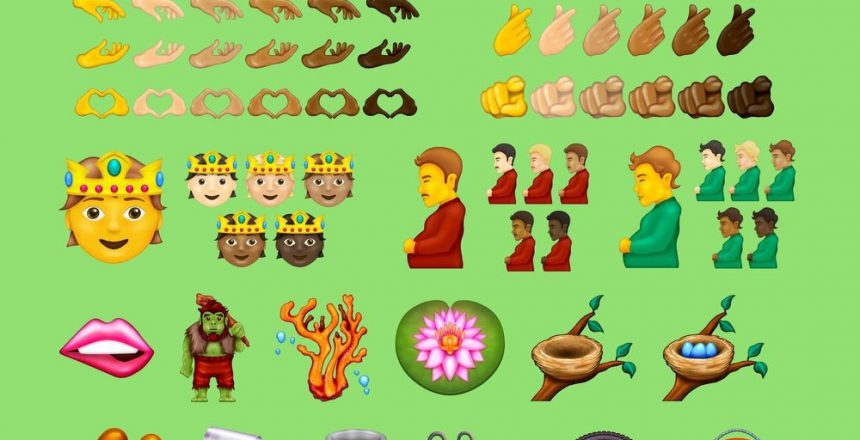 Here are the finalists to be included in Emoji 14