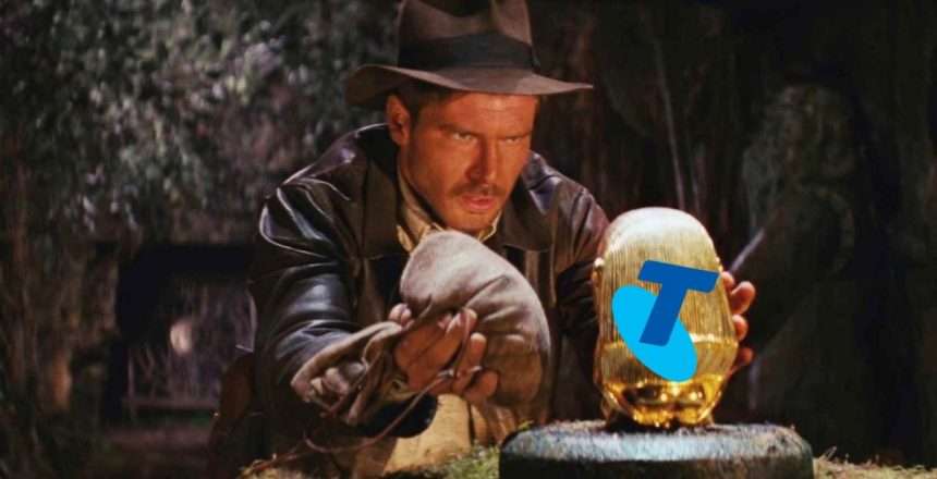 Last chance: get AU$20p/m off Telstra's NBN 100 for a whole year Indiana Jones with golden idol