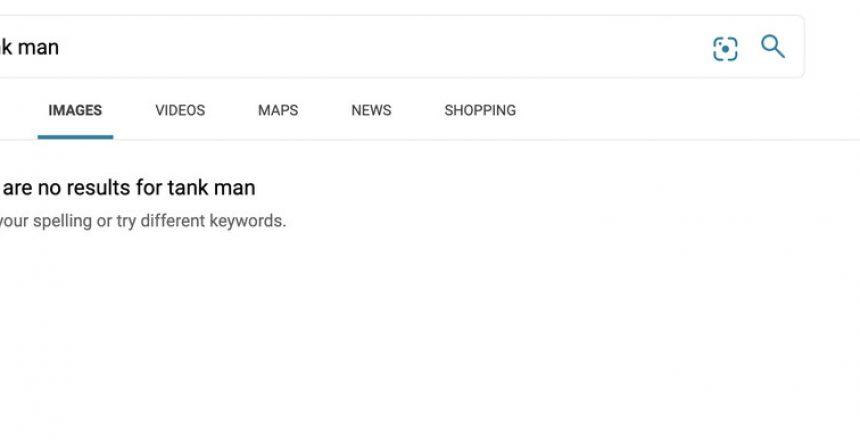Microsoft says Bing's 'Tank Man' censorship was a human error