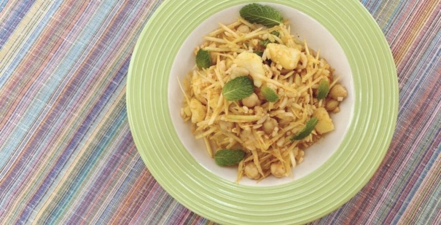 "ONE CHEF ONE RECIPE: Chef Garima of Gaa — ""Tea Leaf Salad"""