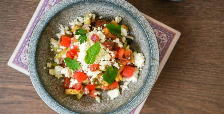 """ONE CHEF, ONE RECIPE: Chef Yakup of Fat Lamb – """"Turkish Salad"""""""