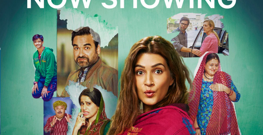 Surrogate mother story Mimi arrives 4 days earlier on Netflix Poster of the Hindi movie Mimi