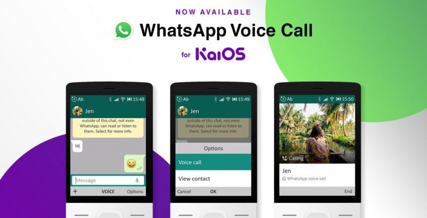 WhatsApp brings voice calls to Jio Phone and other KaiOS-based devices Whatsapp calls on KaiOS